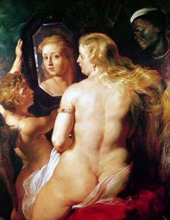 Rubens - Venus ao espelho - colecção privada