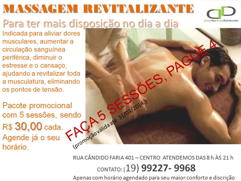 MASSAGEM REVITAL